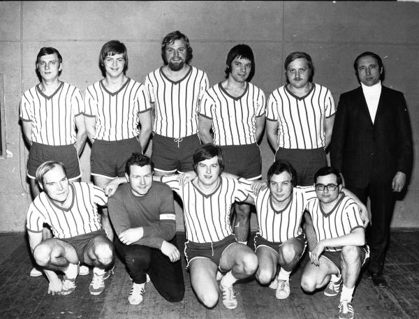 Handball der Männer – Aufstieg in die Bezirksliga 1972
