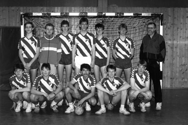 Handball B-Jugend: Kreismeister 1987/88