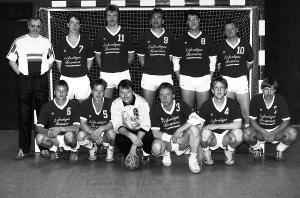 Handball-Kreispokalsieger 1990