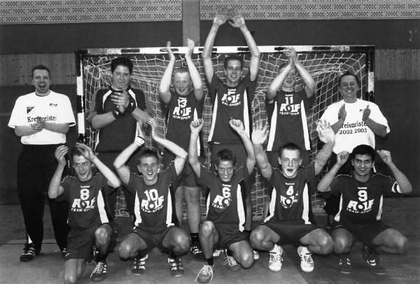Handball B-Jugend Kreismeisterschaft 2002/03